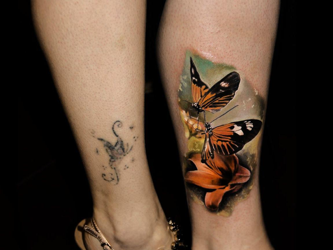 Women Cover Up Tattoo 4