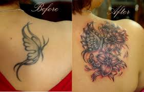 Women Cover Up Tattoo 5