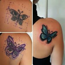 Women Cover Up Tattoo 6
