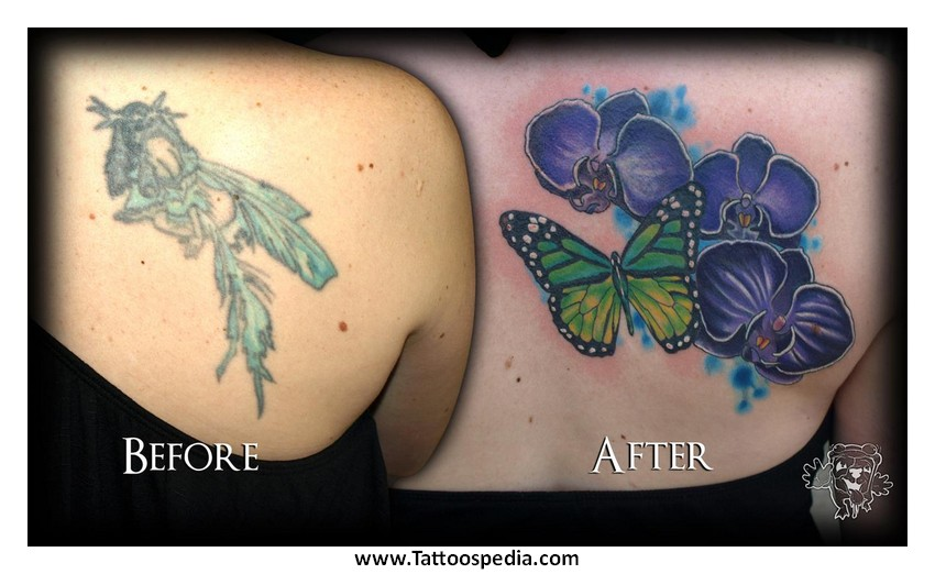 Women Cover Up Tattoo 7