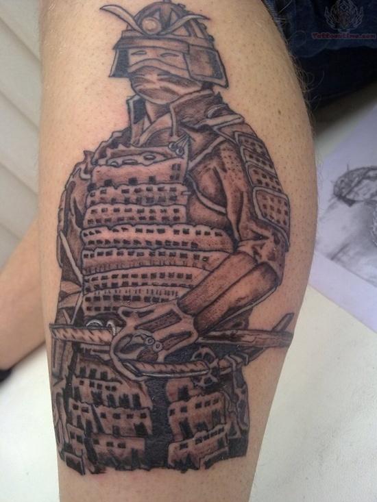 armor samurai tattoo 6