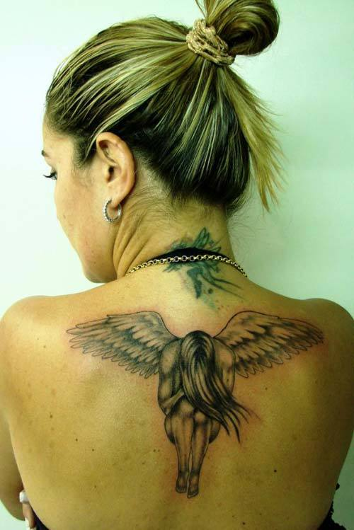 fallen angel tattoo 7