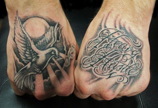 heavenly dove tattoo 4