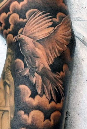 heavenly dove tattoo 7