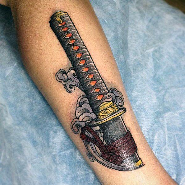 katana tattoo 3