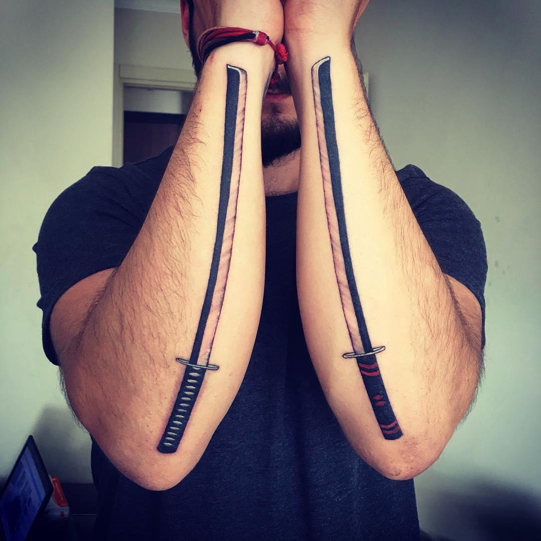 katana tattoo 4