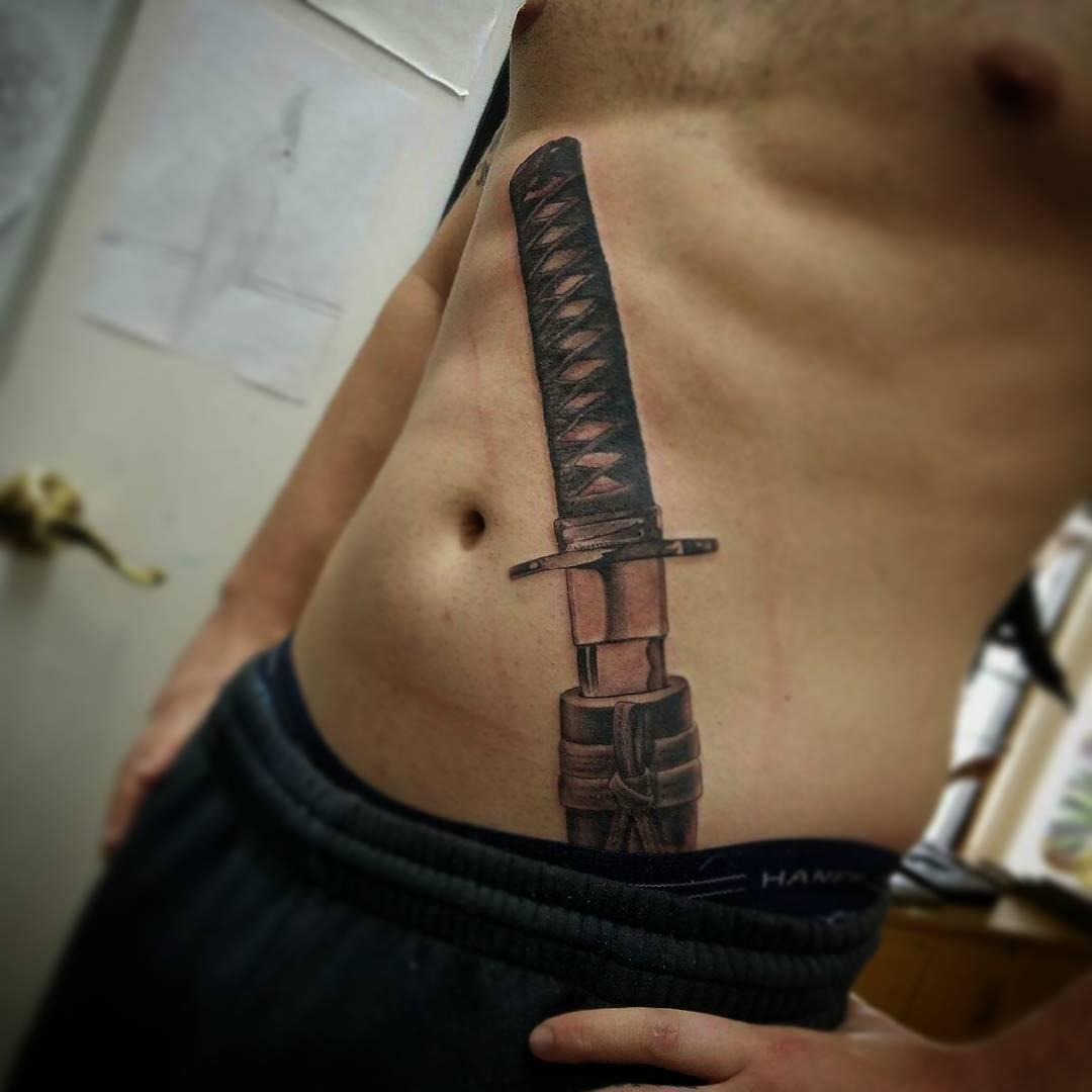 katana tattoo 5