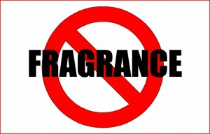 no to fragrance