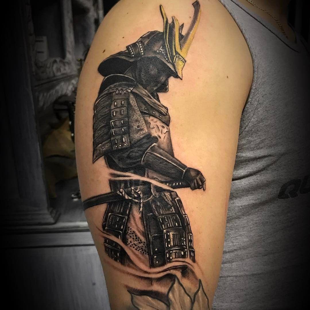 samurai tattoo 1
