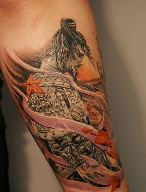 samurai tattoo 5