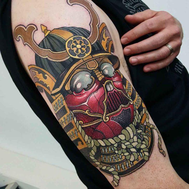 samurai tattoo 8
