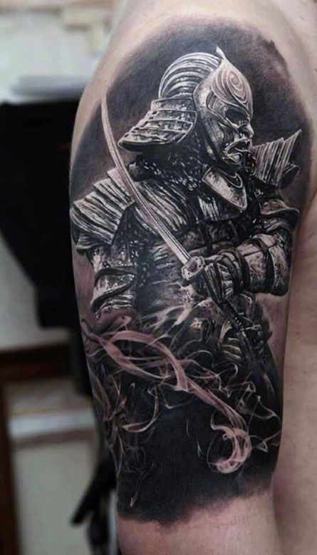 50 Epic Looking Samurai Tattoo Designs You Will Most Definitely