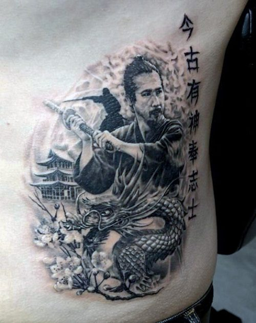 samurai tattoo men 10