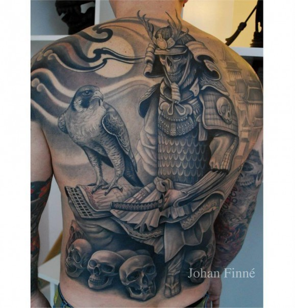 samurai tattoo men 5