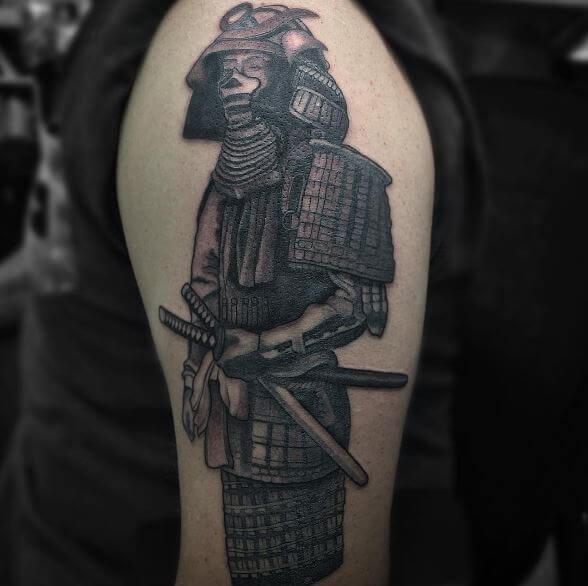 samurai tattoo men 7