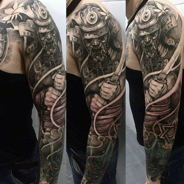 samurai tattoo men 9