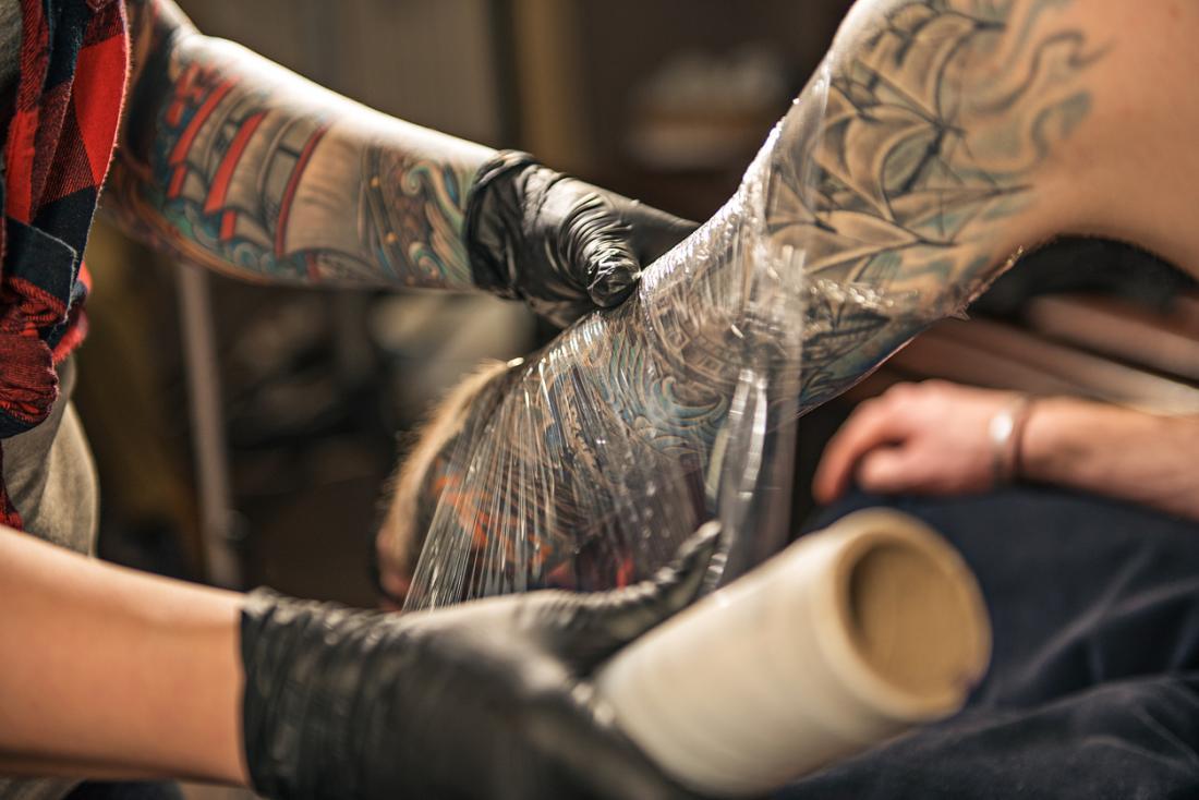 tattoo wrap