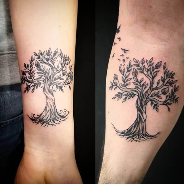 tree of life tattoo forearm