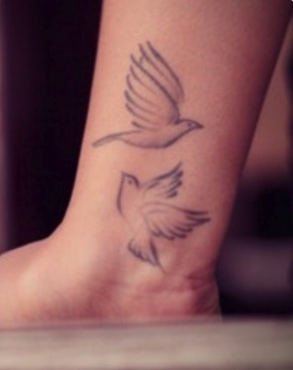turtle dove tattoo 1