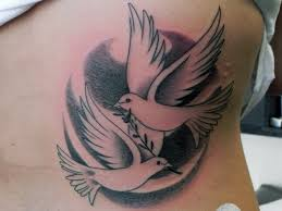 turtle dove tattoo 5