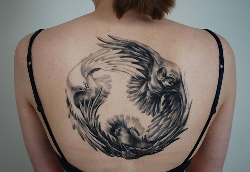 turtle dove tattoo 8