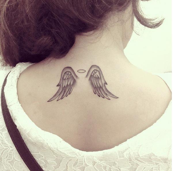 angel wings tattoo 1