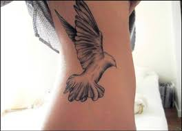 women dove tattoo 5
