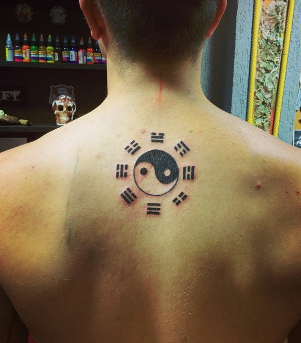 yin yang tattoo men 2