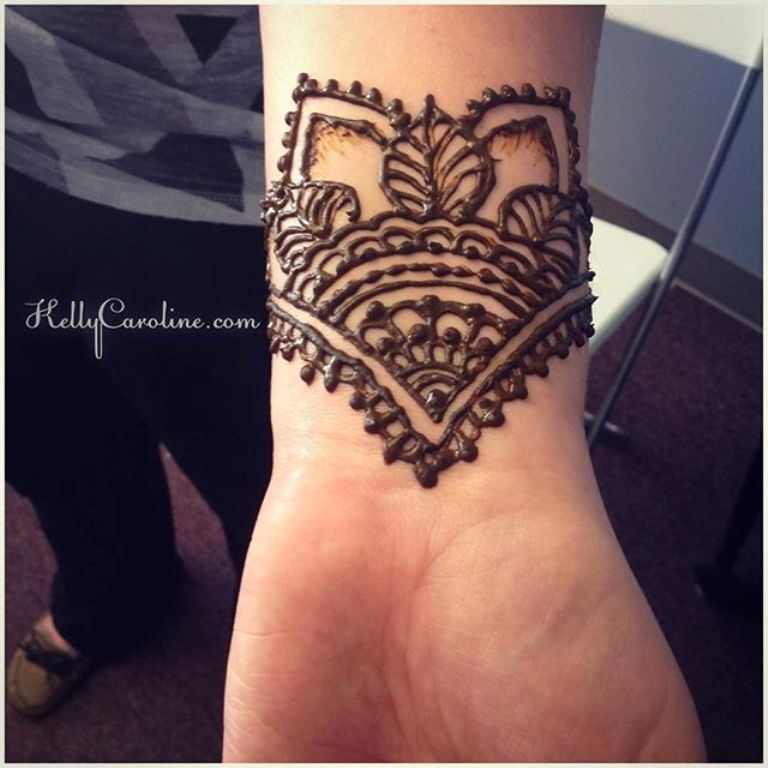 Henna Style Tattoo Wrist: Henna Tattoo Facts Plus 80+ Designs That Will Inspire You