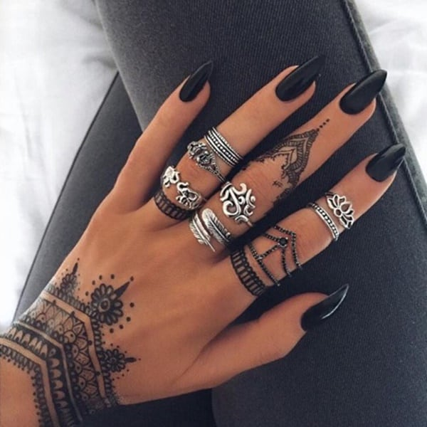 Henna Tattoo Facts Plus 80+ Designs That Will Inspire You to Get One ...