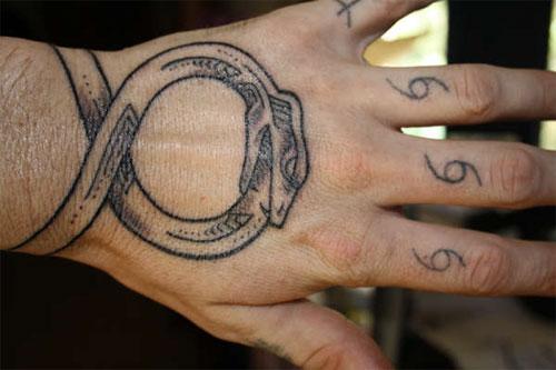Infinity Ouroboros Tattoo 4