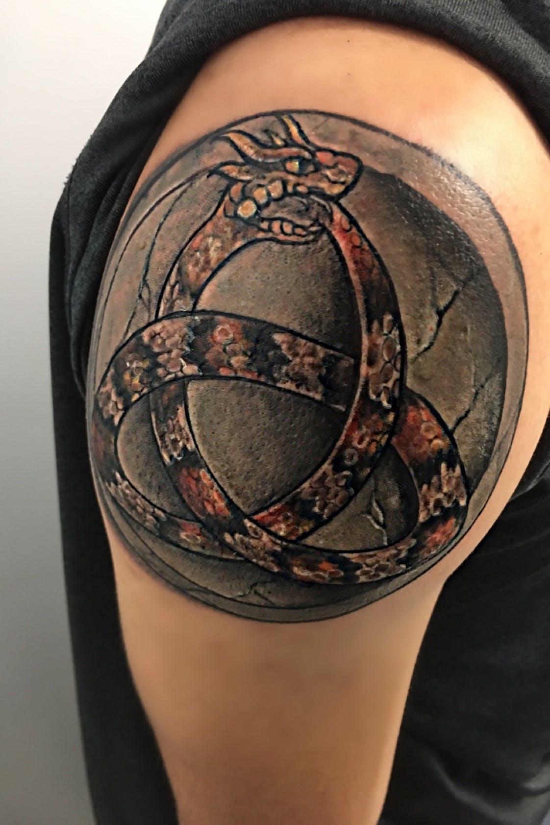 Long Ouroboros Tattoo 5
