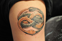 Long Ouroboros Tattoo 6