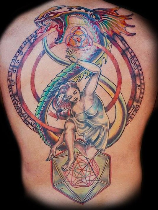 Ouroboros Tattoo Women 5