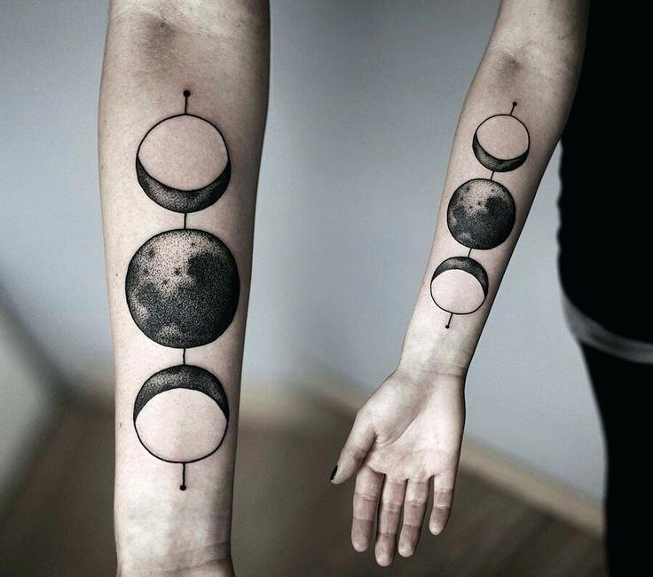 full moon tattoo 8