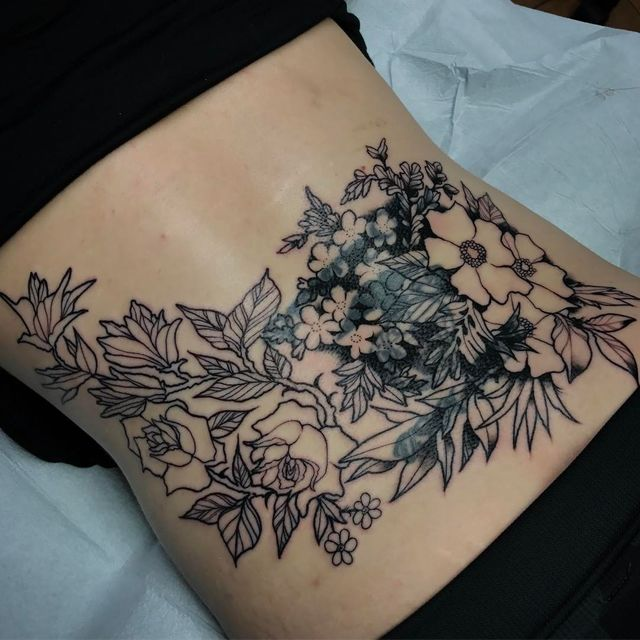 lower back tattoo 2