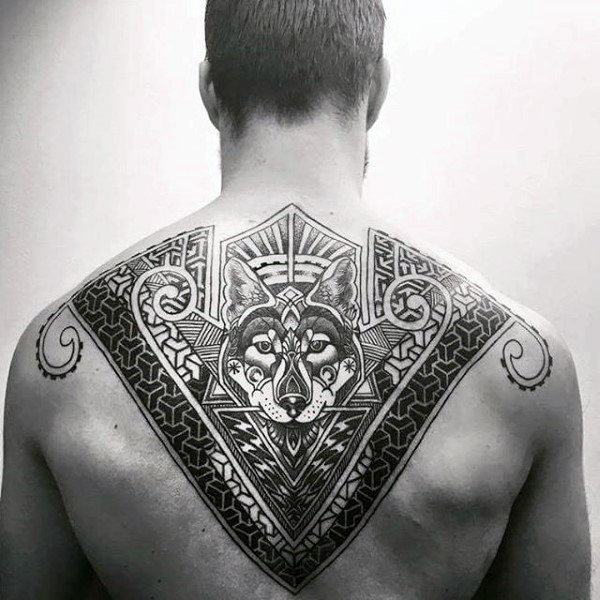 upper back tattoo 1