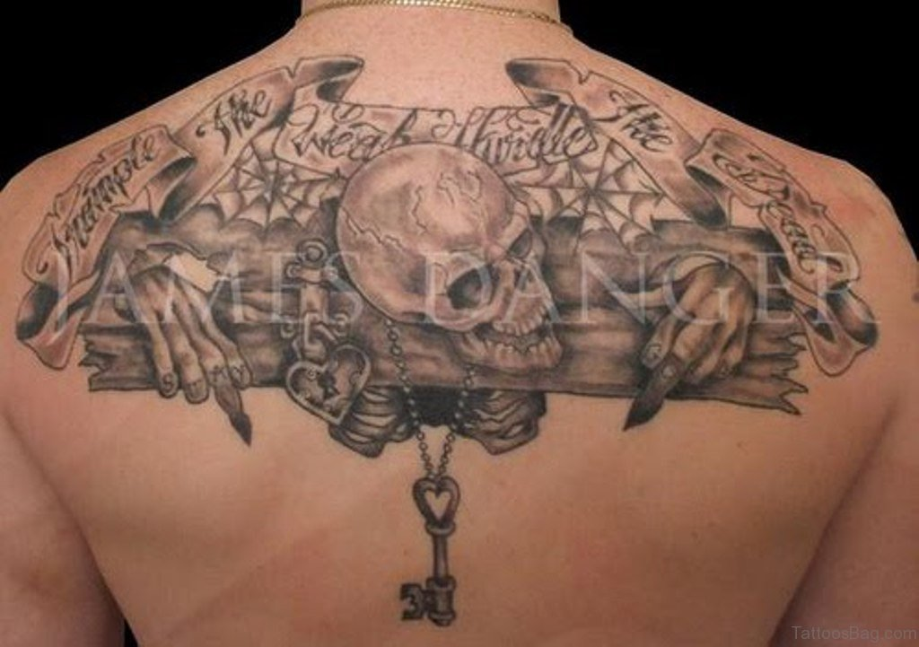 upper back tattoo 4