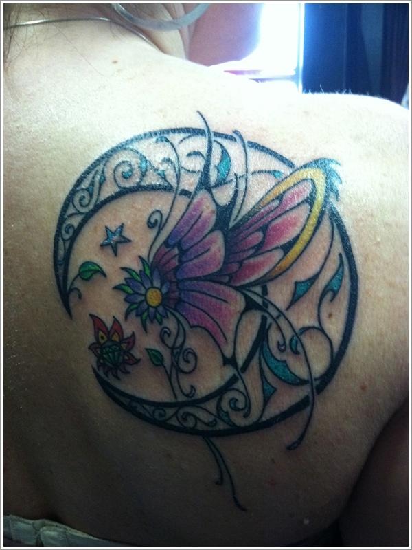 women moon tattoo 10