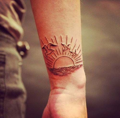 Rising Sun Tattoo 2