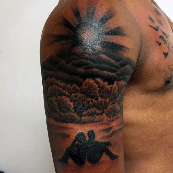 Rising Sun Tattoo 3