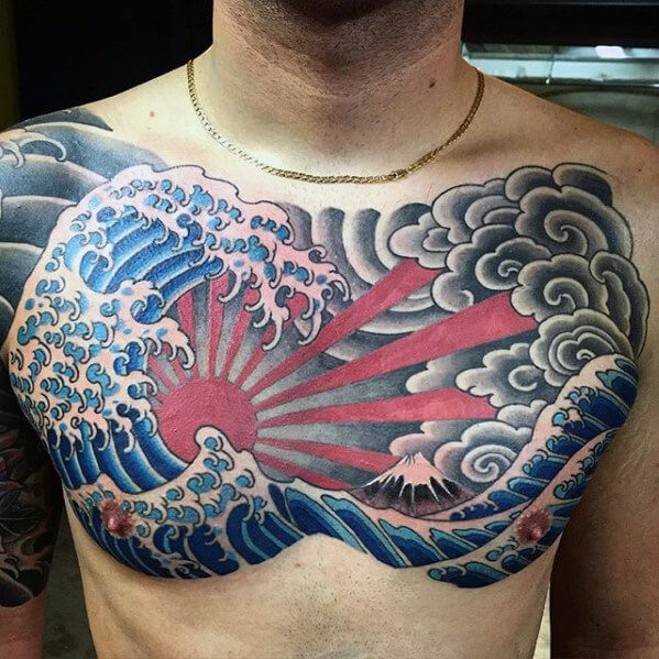 Rising Sun Tattoo 4