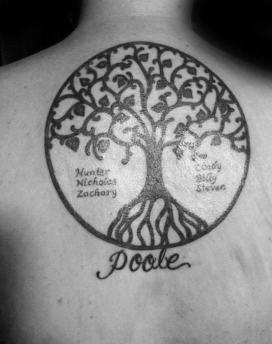 family tree tattoo 1