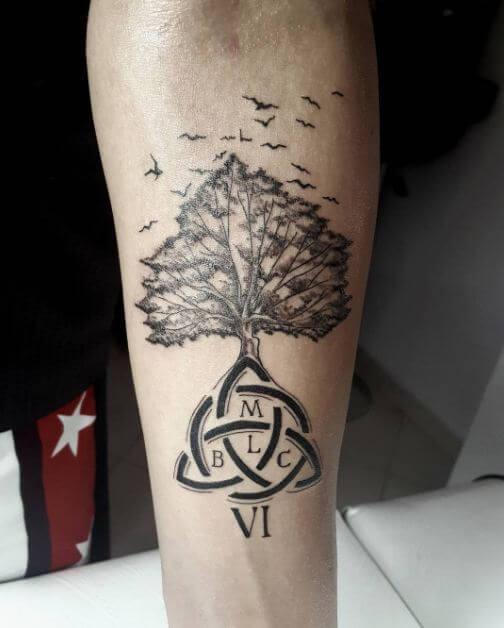 family tree tattoo 7