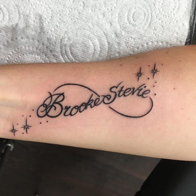 infinity tattoo 1