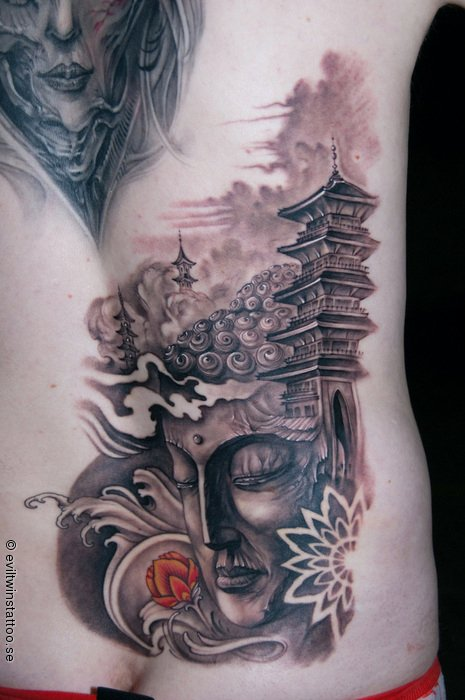 japanese mountain tattoo 4