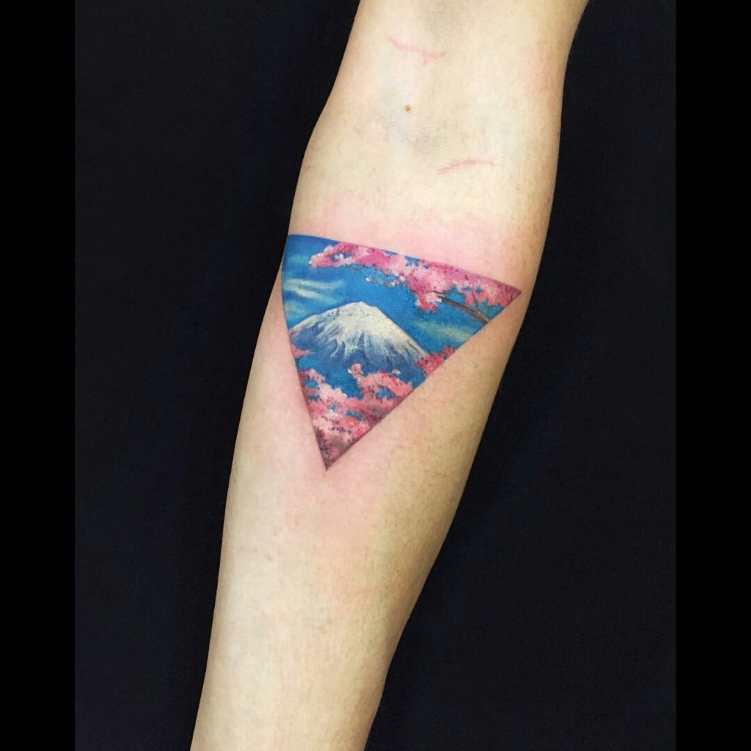 japanese mountain tattoo 5