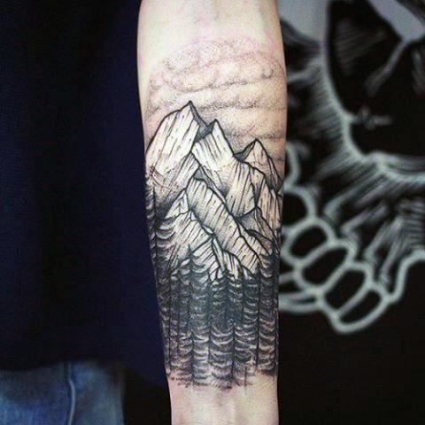 men mountain tattoo 1