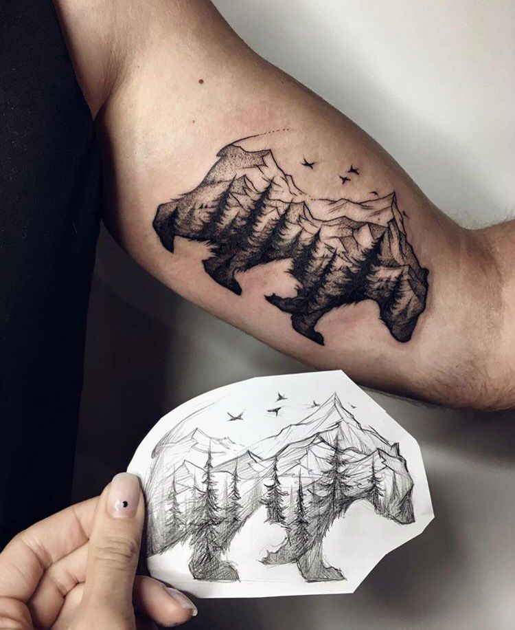 men mountain tattoo 2