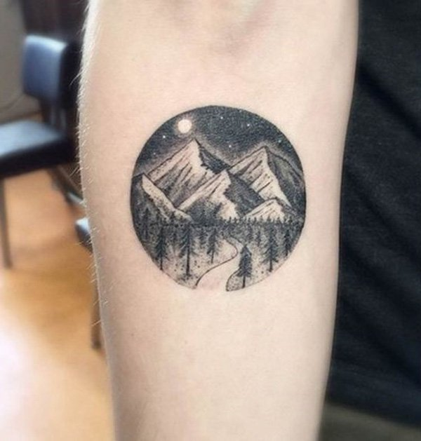 men mountain tattoo 3